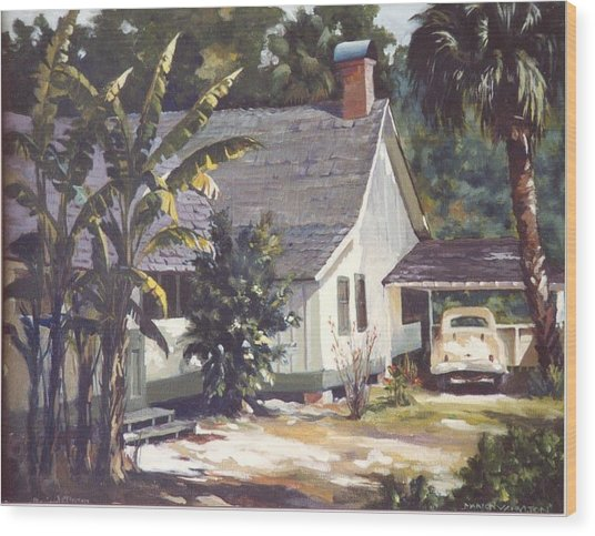 M. K. Rawlings House  Wood Print by Marion  Hylton