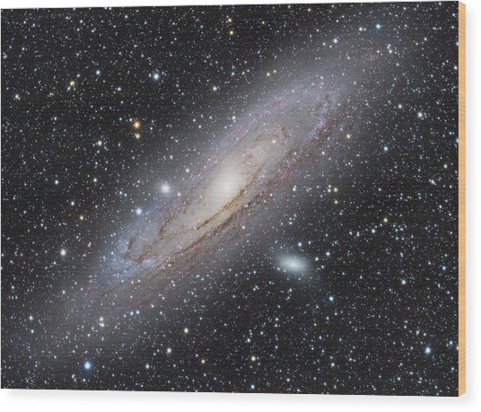 M31 - Andromeda Galaxy Wood Print