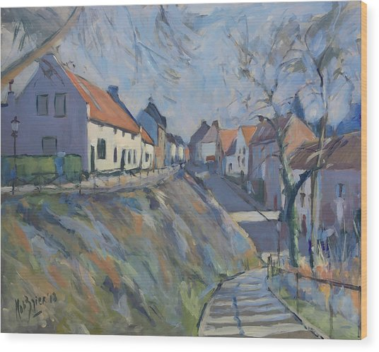 Maasberg Elsloo Wood Print