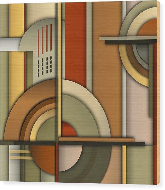 Machine Age Wood Print