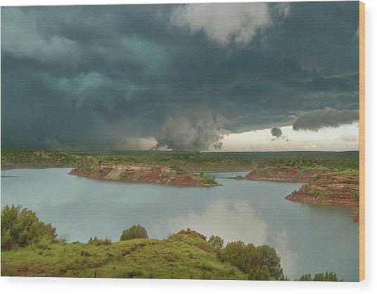 Mackenzie Storm Wood Print