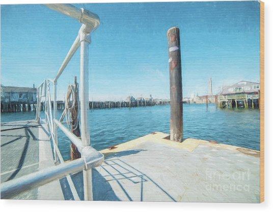Macmillan Pier Wood Print