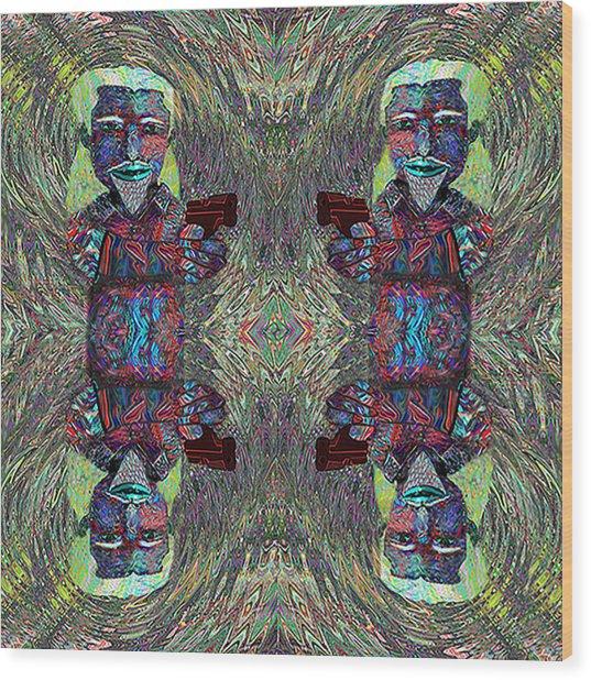 Mad  Cmtm II Wood Print