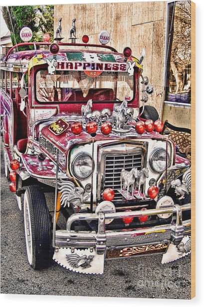 Made In The Philippines Wood Print