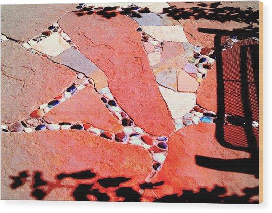 Madrid Mosaic.. Wood Print by Al  Swasey