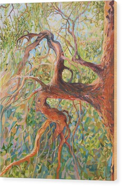 Madrona I Wood Print