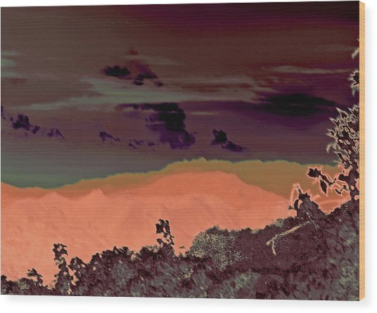 Magellan's Final Twilight 2016 Wood Print by James Warren
