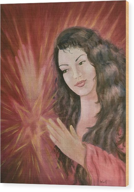 Magic - Morgan Le Fay Wood Print