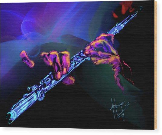 Magic Flute Wood Print