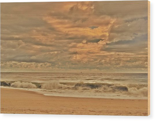 Magic In The Air - Jersey Shore Wood Print