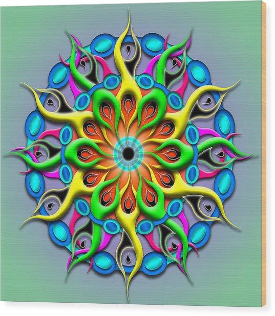 Magical Hypnosis Wood Print