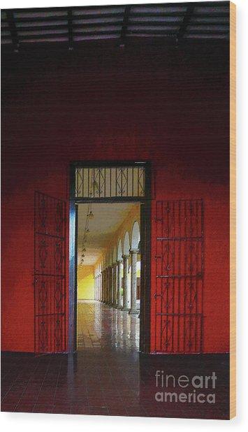Magical Merida Door Wood Print