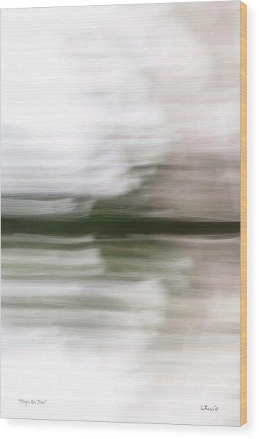 Magna Bay Storm Wood Print