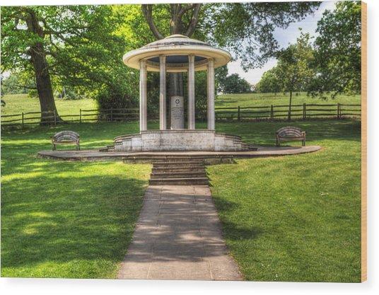 Magna Carta Memorial Wood Print