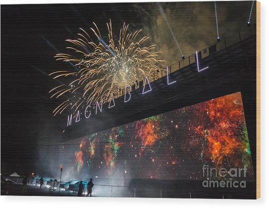 Magnaball Finale Wood Print