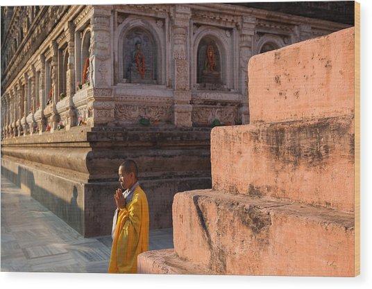 Mahabodhi  Wood Print