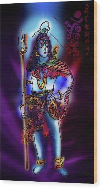 Maheshvara Sadashiva Wood Print