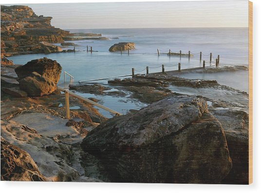 Mahon Pool Wood Print
