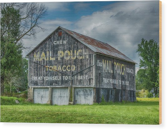 Mail Pouch Barn - Us 30 #4 Wood Print
