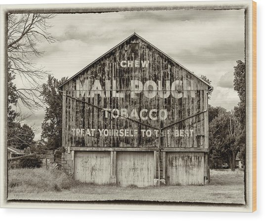 Mail Pouch Barn - Us 30 #5 Wood Print