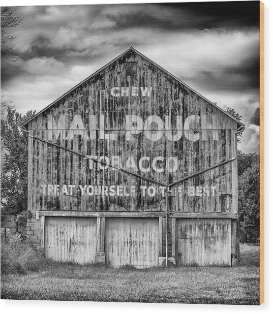 Mail Pouch Barn - Us 30 #6 Wood Print