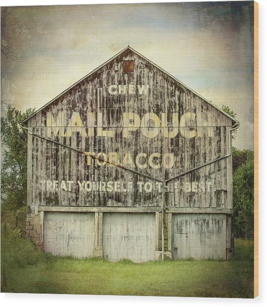 Mail Pouch Barn - Us 30 #7 Wood Print