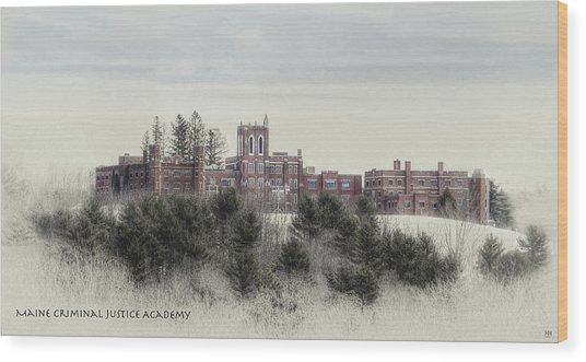 Maine Criminal Justice Academy Wood Print