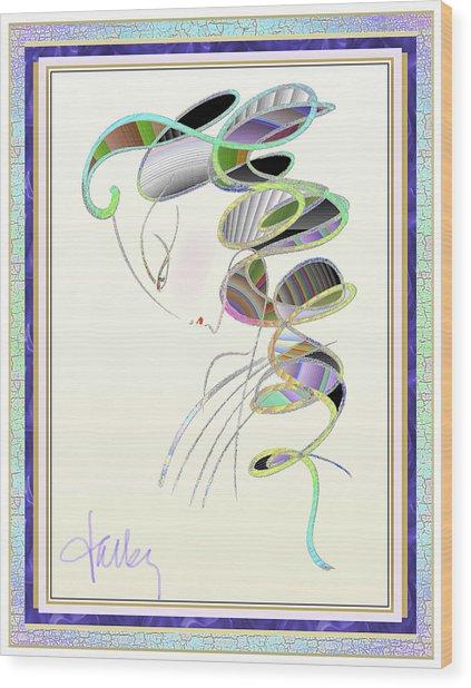 Maitresse-en-titre Wood Print