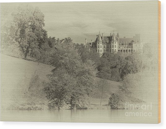 Majestic Biltmore Estate Wood Print