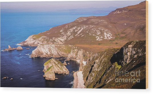Majestic Glenlough - County Donegal, Ireland Wood Print