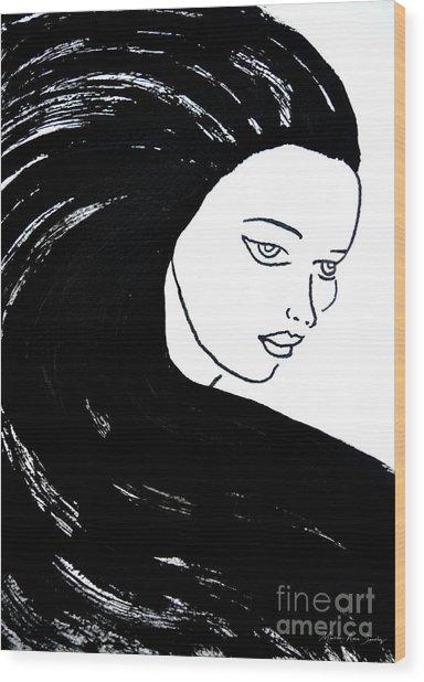 Majestic Lady J0715a Wood Print