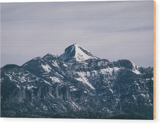 Majestic Morning On Pagosa Peak Wood Print