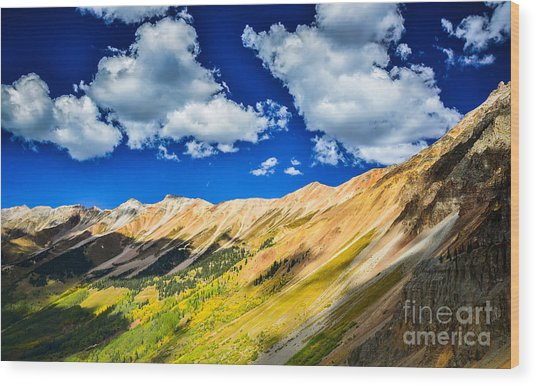 Majestic San Juan Mountains  Wood Print by Scott and Amanda Anderson
