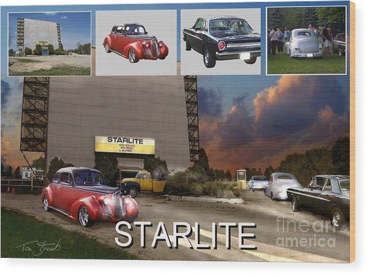 Making The Starlite Wood Print by Tom Straub