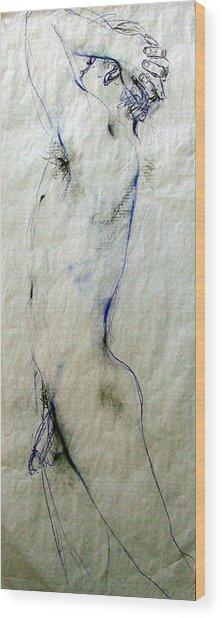 Male Nude 4762 Wood Print