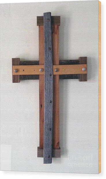 Maltese Cross Wood Print