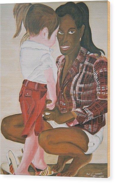 Mami Sandal Wood Print by Desenclos Patrick