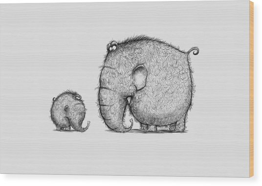 Mammothz Wood Print