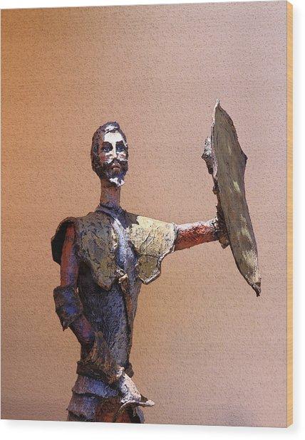 Man Of La Mancha Wood Print