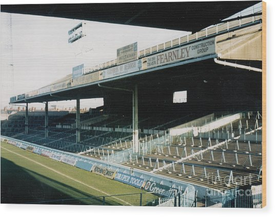 Manchester City - Maine Road - East Stand 1 - 1984 Wood Print
