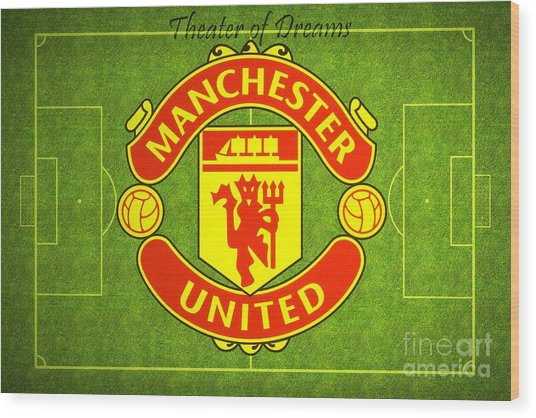 Manchester United Theater Of Dreams Large Canvas Art, Canvas Print, Large Art, Large Wall Decor Wood Print