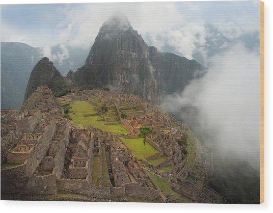 Manchu Picchu Wood Print