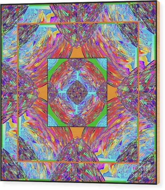 Mandala #1 Wood Print
