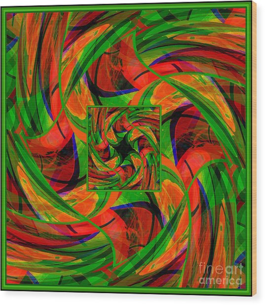 Mandala #36 Wood Print