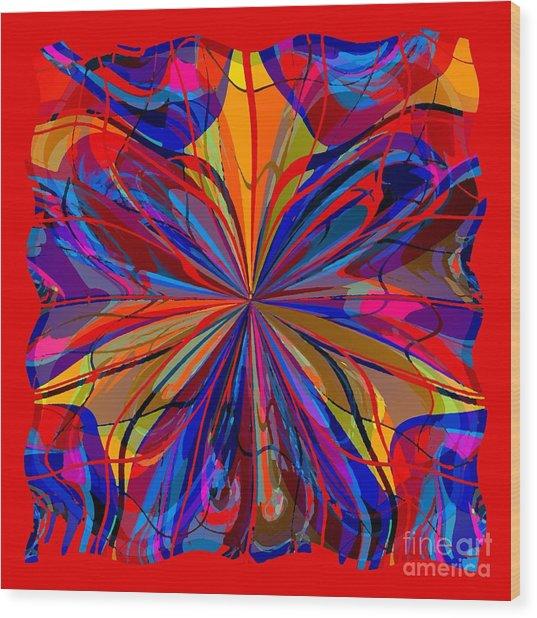 Mandala #4 Wood Print