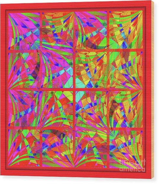 Mandala #48 Wood Print