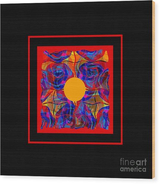 Mandala #5 Wood Print