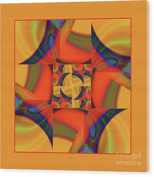 Mandala #56 Wood Print
