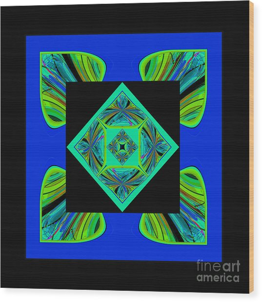 Mandala #6 Wood Print