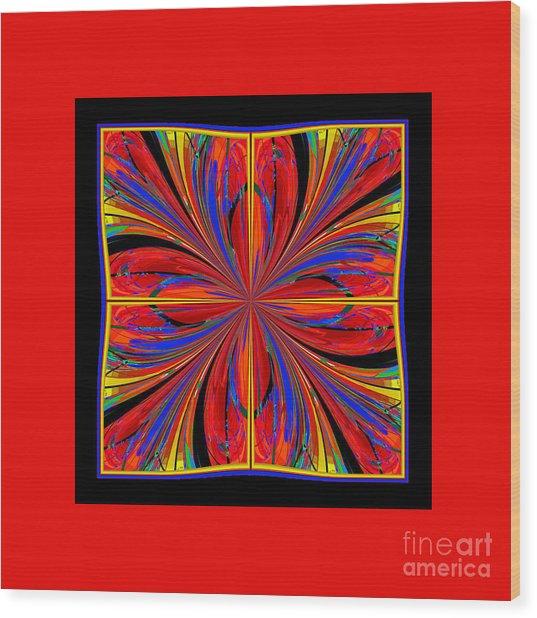 Mandala #8 Wood Print